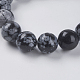 Natural Snowflake Obsidian Beads Strands(X-G-G515-10mm-01)-3