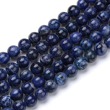 6mm Round Sodalite Beads