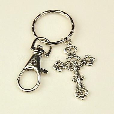 Cross Alloy Key Chain