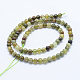 Natural Green Garnet Beads Strands(G-J373-19-5mm)-3