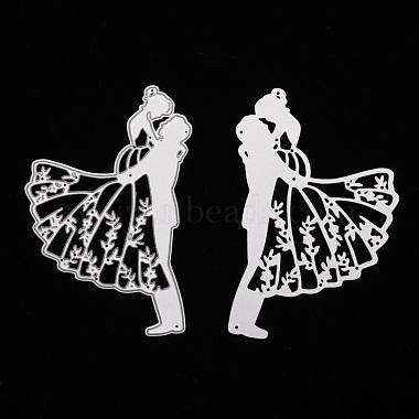 Valentine's Day Lovers Carbon Steel Cutting Dies Stencils(DIY-A008-36)-2