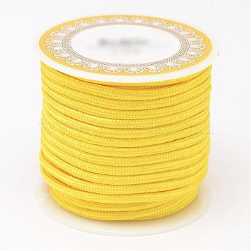 3mm Yellow Polyacrylonitrile Fiber Thread & Cord