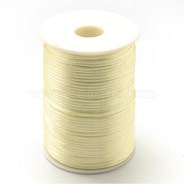 1.5mm LightGoldenrodYellow Polyacrylonitrile Fiber Thread & Cord