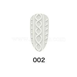Gel de peinture à ongles, pour nail art 3d camée design, blanc, 10ml(MRMJ-F004-13B)