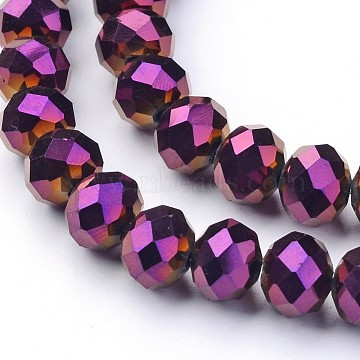 10mm Rondelle Glass Beads