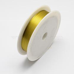 железная проволока, золото, 26 датчик, 0.4 mm, 12 м / рулон, 10 рулонов / набор(MW-R001-0.4mm-02)