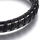 Leather Braided Cord Bracelets(BJEW-E352-07B)-2