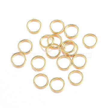 Golden Ring Stainless Steel Close but Unsoldered Jump Rings