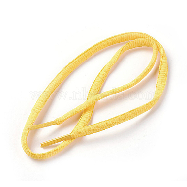 Yellow Polyester Shoelace