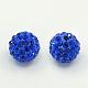 Perles de strass en argile polymère(RB-N006-10)-1