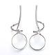 304 Stainless Steel Stud Earrings(EJEW-L215-48P)-1
