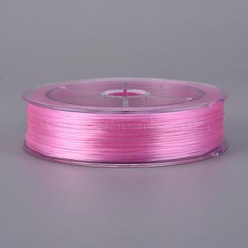 0.8mm Pink Elastic Fibre Thread & Cord