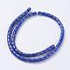 Natural Lapis Lazuli Beads Strands(G-I185-06-5x6mm)-2