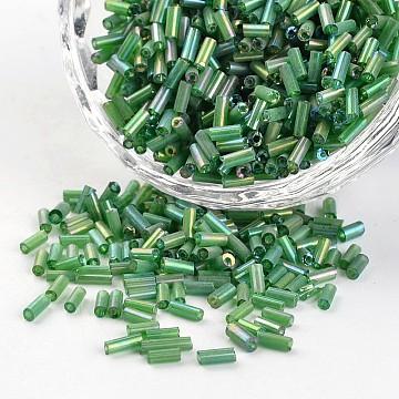 5mm Green Glass Beads