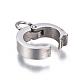 304 Stainless Steel Pendant Bails(STAS-E466-08P)-2