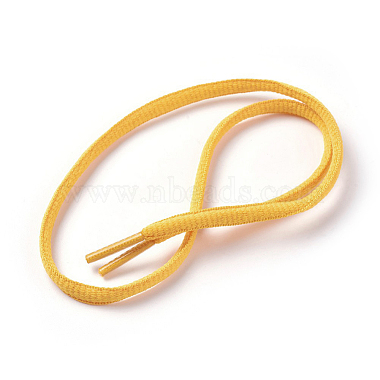 Gold Polyester Shoelace