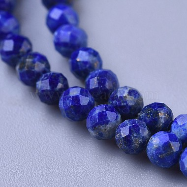 Natural Lapis Lazuli Beaded Necklaces(NJEW-K114-A-A06)-2