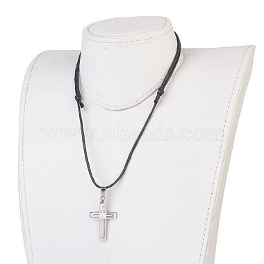 304 Stainless Steel Pendant Necklaces(NJEW-JN02174-02)-4