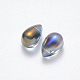 Transparent Spray Painted Glass Charms(X-GLAA-R211-03-D01)-2