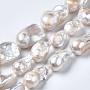 White Nuggets Keshi Pearl Beads(A22R9011-01)