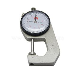 Jauge d'épaisseur portatif, environ 43 mm de large, Longueur 90mm, 15 mm d'épaisseur, la valeur max: 2 mm, valeur min: 0.1 mm(TOOL-D002-1)