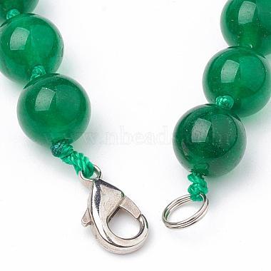 Natural Malaysia Jade Beaded Necklaces(NJEW-S404-18)-3