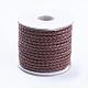 Round Braided Cowhide Cords(WL-L009-01Q)-1