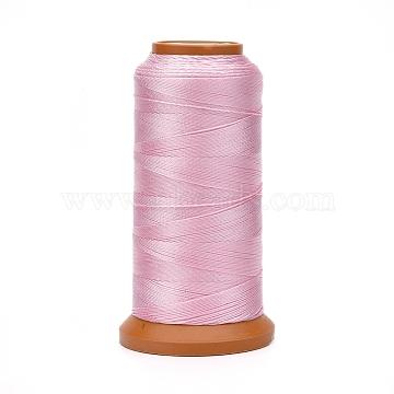 Polyester Threads, for Jewelry Making, Plum, 0.5mm, about 601.48 yards(550m)/roll(NWIR-G018-D-07)