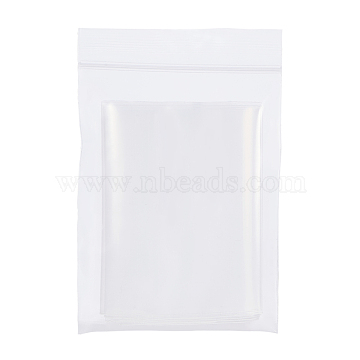 BENECREAT Zip Lock Bags, Resealable Bags Top Seal, Clear, 10.1x7cm; Unilateral Thickness: 0.1mm, 150pcs/set(OPP-BC0001-03A)