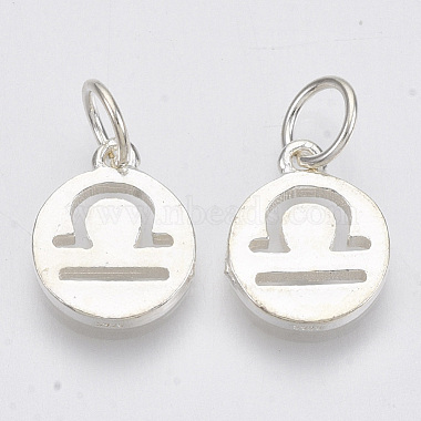 925 Sterling Silver Charms(X-STER-T002-44S-08)-3