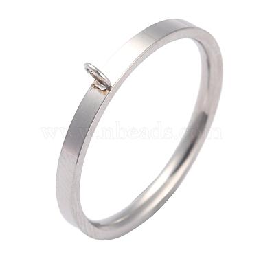 304 paramètres d'anneau de doigt en acier inoxydable(RJEW-O045-09C-P)-3