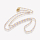 304 Stainless Steel Chain Necklaces(X-NJEW-E083-02E)-2
